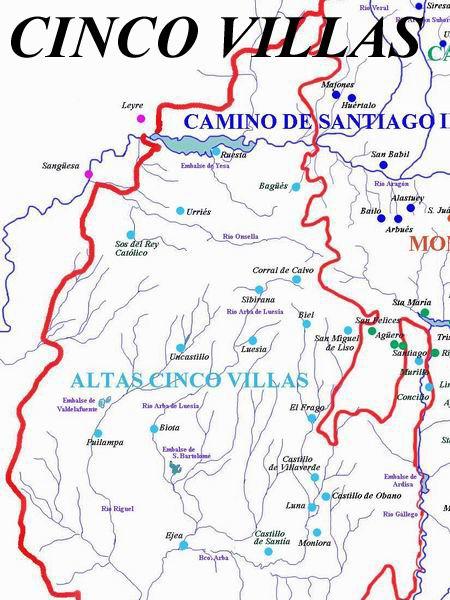cinco villas rutas romanicas por el altoaragon a garcia omedes