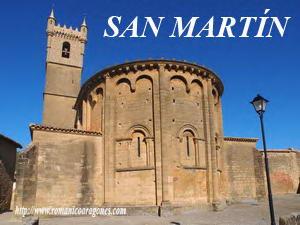 IGLESIA DE SAN MARTÍN, DESDE EL CASTILLO