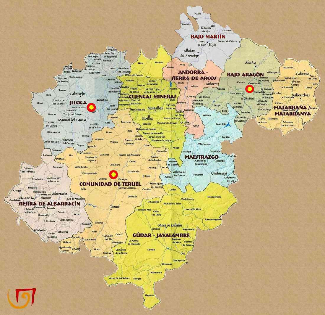 Rutas Romanicas Por Teruel A Garcia Omedes